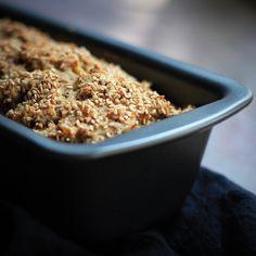 banana bread - vegan, sugar-free (recipe from lovefoodeat.com)