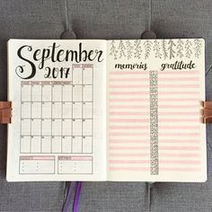 "2,026 Likes, 45 Comments - Nicole 🌸 (@bujo_blossoms) on Instagram: ""Bring it on, September ✨ . . @my_blue_sky_design had such a wonderful idea, where you not only…"""
