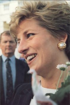 November, 1993:  Princess Diana at the Birthright ReLaunch at Regents Park.