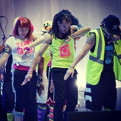 R.A.M. Squad performs before the start of THON.