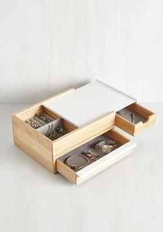 Terrifically Tucked Away Jewelry Box, #ModCloth