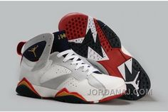 buy popular d6d86 8a695 Discount Nike Air Jordan VII 7 Retro Mens Shoes Discount for Sale White  Silver For Sale Save up Off! Cheap Nikes Online for Customers