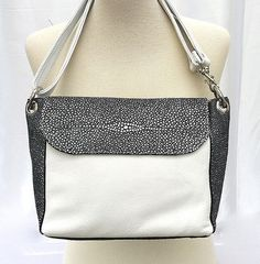 Black & White Bag - Hippy Flapper