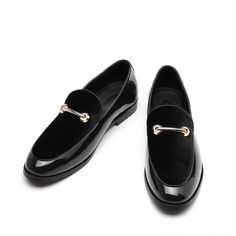 M-anxiu Fashion Pointed Toe Dress Shoes Men Loafers Patent Leather Oxford Shoes for Men Formal Mariage Wedding Shoes Mens Leather Loafers, Loafers Men, Leather Men, Leather Shoes, Penny Loafers, Oxford Shoes Outfit, Dress Shoes, Men Dress, Formal Shoes