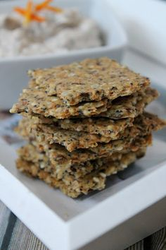 Healthy Crackers, Greek Dishes, Biscuit Cookies, Ham And Cheese, Light Recipes, Granola, Brunch, Favorite Recipes, Healthy Recipes
