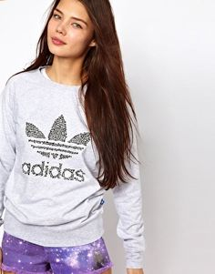 Buy Adidas Sweatshirt With Bone Print Logo at ASOS. With free delivery and return options (Ts&Cs apply), online shopping has never been so easy. Get the latest trends with ASOS now. Saved Items, Print Logo, Hoodies, Sweatshirts, Pyjamas, Sport Outfits, Casual Wear, Asos, Graphic Sweatshirt