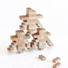 Mokulock Wood Bricks: LEGO for Builders Who Hate Plastic, Color
