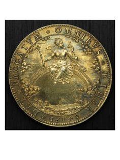 Médaille avec le portrait de LOUIS XIII enfant - Musée national de la Renaissance (Ecouen)