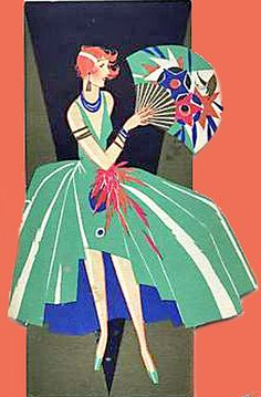 Lady with Fan
