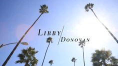 Libby + Donovan's Wedding highlight video by Bang Bang Creative.  Planning & Design by Sterling Social.  Wedding held at the Sunset Tower Hotel in West Hollywood