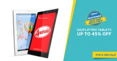 One Stop for Shopping: Upto 45% Off on Digiflip Pro Tablets