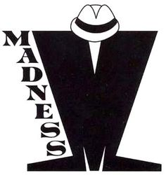 Madness carried the ska. While much of the roster quickly changed their sounds (before imploding) Madness took their ska-music-hall. Ska Music, Music Music, I Love Music, Arte Punk, Ska Punk, One Step Beyond, Rude Boy, Band Logos, Post Punk