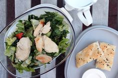 Saladbox + JustWater drinkfles van Rosti Mepal