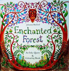 Stress Reliever Johannabasford Johannabasfordenchantedforest Enchantedforest Inkyquest Colouringbook Coloring Fabercastell