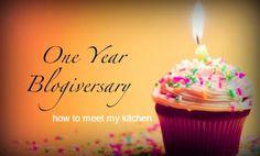 How To Meet My Kitchen: 1st anniversary of my blog! Happy birthday!!! 1st Anniversary, Birthday Candles, Temple, About Me Blog, Happy Birthday, Meet, Kitchen, Life, 1 Year Anniversary