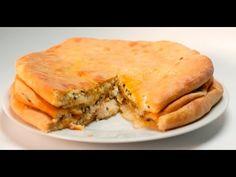 Осетинский пирог с сулугуни и шпинатом – Классческий рецепт с фото для приготовления дома