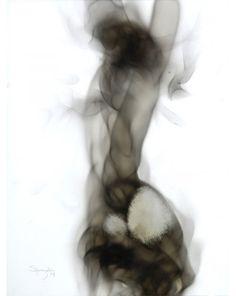 Steven Spazuk's Soot Art is on fire. Smoke Painting, Smoke Art, Time Photo, Canadian Artists, Art Techniques, Great Artists, Art Drawings, Fire, Fine Art