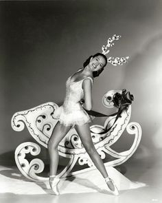 Vintage Hollywood Christmas -   Cyd Charisse