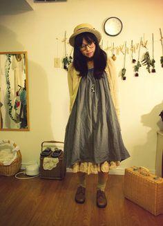 #mori-girl Mori, Mori Kei, Mori Fashion, Mori Style, Mori Girl,