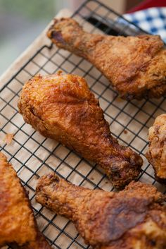Mouthwatering southern fried chicken recipe #southern #recipes #chicken