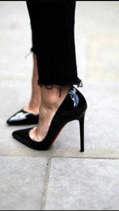 Black stilettos tumblr