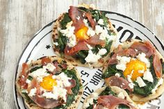 Pizzas-tortillas aux œufs