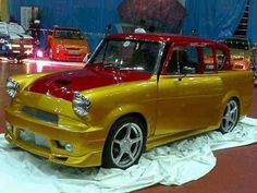 Custom Cars, Ford Motor Company, Pimped Out Cars, Chevy Nomad, Ford Anglia, Ford Classic Cars, Old Fords, Ford Escort, Sports