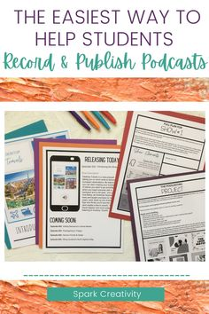Want to offer your students choice while teaching them about writing, editing, researching, designing, and more? Guide students through the process of podcasting with these easy to use, engaging curriculum guides and resources that will foster 21st century skills! #pblresources #highschoolenglish Middle School Ela, Middle School English, English Lesson Plans, Teaching Language Arts, English Classroom, Teaching Strategies, English Language, 21st Century, Curriculum