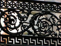 Amazing iron work in Savannah Georgia