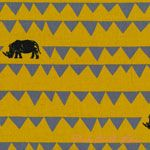 Etsuko Furuya Echino Decoro Rhino Yellow [IMPORT-JG99550-52-B33] - $19.95 : Pink Chalk Fabrics is your online source for modern quilting cottons and sewing patterns., Cloth, Pattern + Tool for Modern Sewists