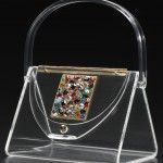 Vintage Lucite Purses Make Dazzling Accessories #style