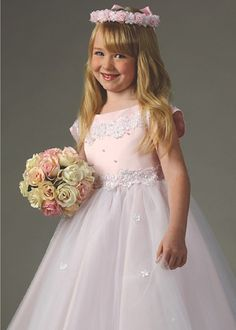 Pink Gorgeous Flower Girl Dress