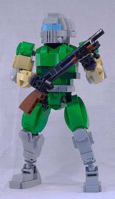Doomguy is here to blast all your LEGO demons back to brick hell