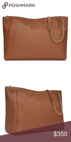 NWT Authentic Tory Burch Marion Hobo Bag Purse NWT Authentic Tory Burch Marion Purse!  Gorgeous Boho Chic Bag!  Mint condition, still in its packaging.  Dust bag included. Tory Burch Bags Shoulder Bags
