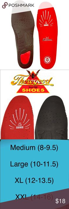 0ca7e6f8deca Thorogood Dual Density Air Flow Cushion Insoles No Returns or Exchanges on  This Item Thorogood Dual