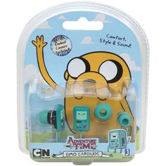 Adventure Time Beemo Earbuds