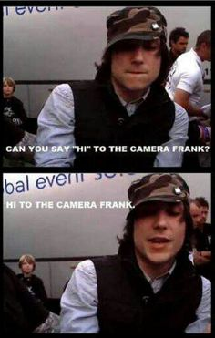 FRANKIE IERO I LOVE THIS MAN