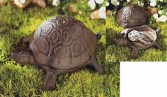 Amazon.com: Turtle Spare Key Hider Keyholder Holder Yard Figurine: Patio, Lawn & Garden