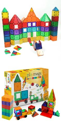 Playmags. My kids love these magnetic building blocks (similar to Magna tiles)