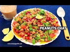 Peanut Chaat Recipe, Peanut Masala, Chats Recipe, After School Snacks, Snack Recipes, Tasty, Salad, Weight Loss, Meals