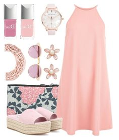 """About Pink !!"" by oursunnycdays ❤ liked on Polyvore featuring New Look, Miu Miu, Sheriff&Cherry, Kenneth Jay Lane, Christian Dior and Ted Baker"