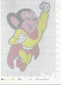 MIGHTY MOUSE WALL HANGING by SORAM INFO SYSTEMS