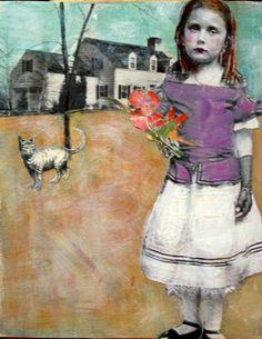 Martha My dear original painting Heather Murray by MaudstarrArt on Etsy