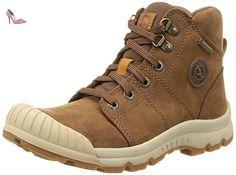 Aigle Arven Mid W Mtd, Chaussures de Randonnée Hautes Femme, Beige/Papaye, 37 EU