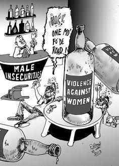 Sunday cartoon - The evils of alcohol January 20, 2013