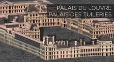 Minecraft Creations, Minecraft Projects, Palais Minecraft, Palace, Palais Des Tuileries, Louvre Museum, Monuments, Amazing Minecraft, Ancient Architecture