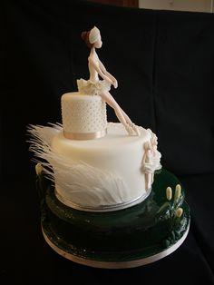 Ballerina Cake Swan Lake