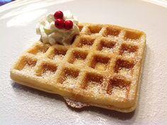 Milujem wafle ..Mäkké po krajoch chrumkavé...
