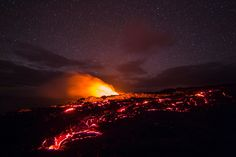 Hawaii Volcanoes time-lapse - behind the scenes par QT Luong