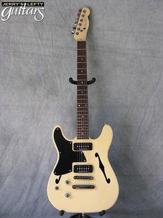 front view left hand guitar Fender TC-90